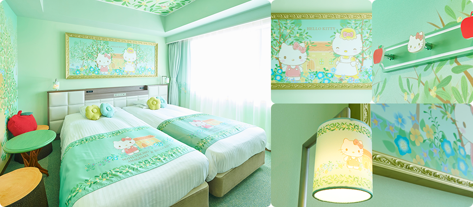 HELLO KITTY's VISCHIO Forest Room